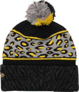 Batman Animal Print Pom Beanie