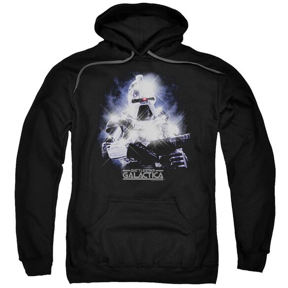 Bsg 35 Th Anniversary Cylon Adult Pull Over Hoodie Black