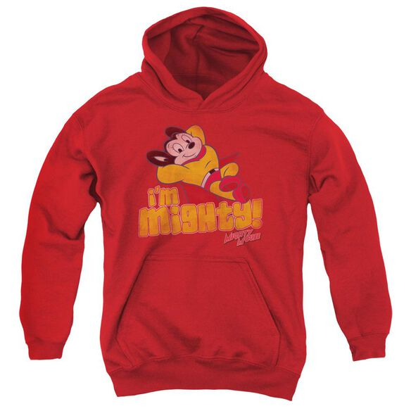 Mighty Mouse I'm Mighty Youth Pull Over Hoodie