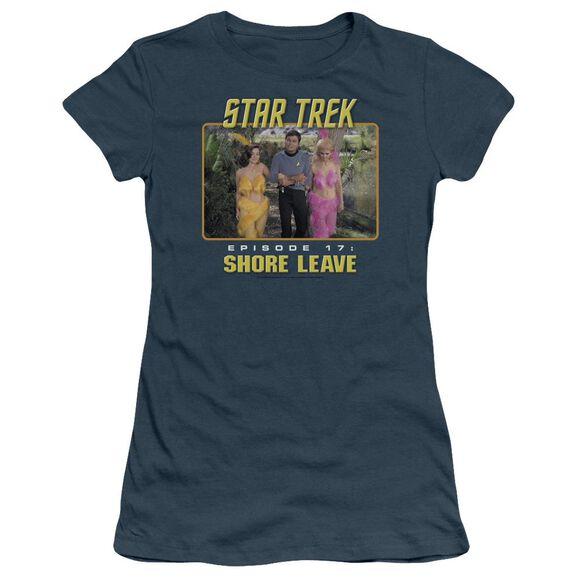 St Original Shore Leave Short Sleeve Junior Sheer T-Shirt