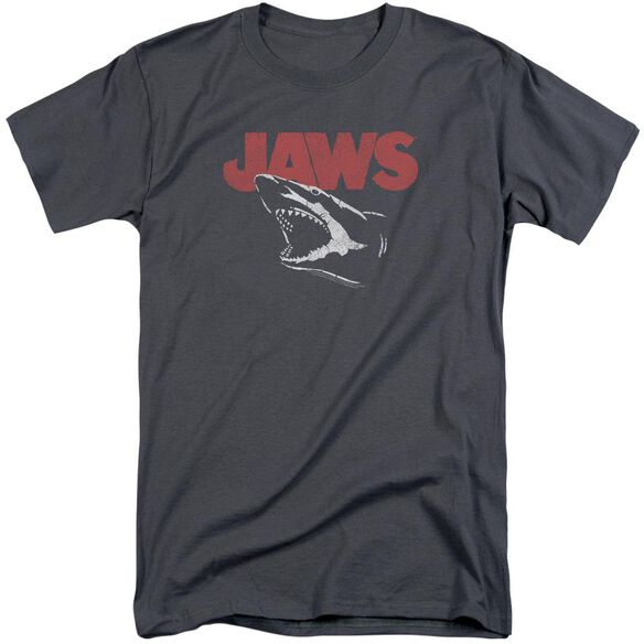 Jaws Cracked Jaw Short Sleeve Adult Tall T-Shirt