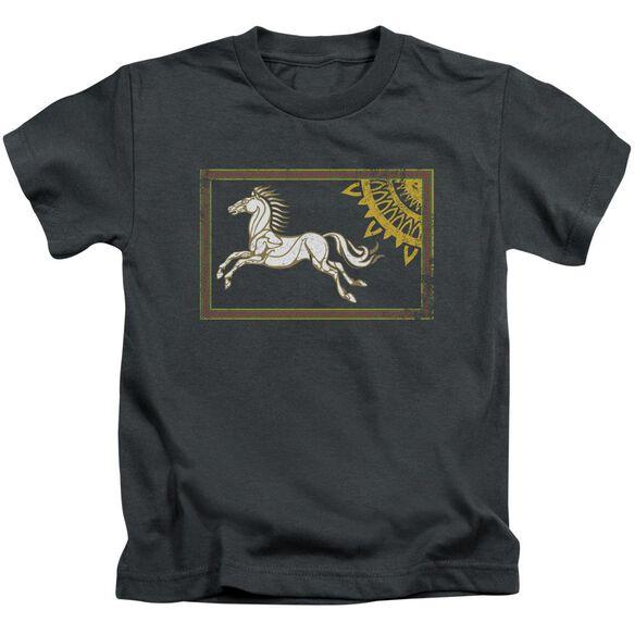 Lor Rohan Banner Short Sleeve Juvenile Charcoal T-Shirt