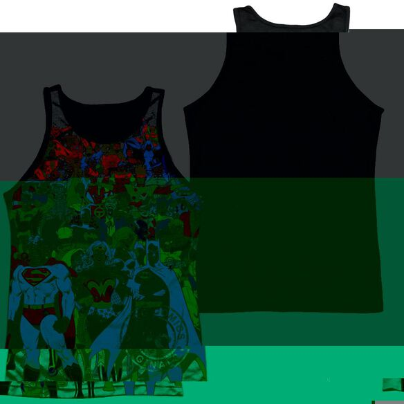 Dc Original Universe-adult Poly Tank Top