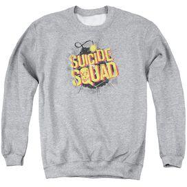 Suicide Squad Vintage Bomb Adult Crewneck Sweatshirt Athletic