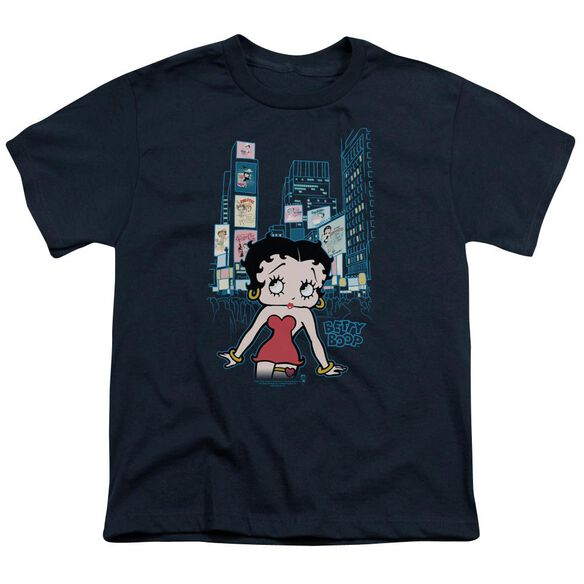 Betty Boop Square Short Sleeve Youth T-Shirt