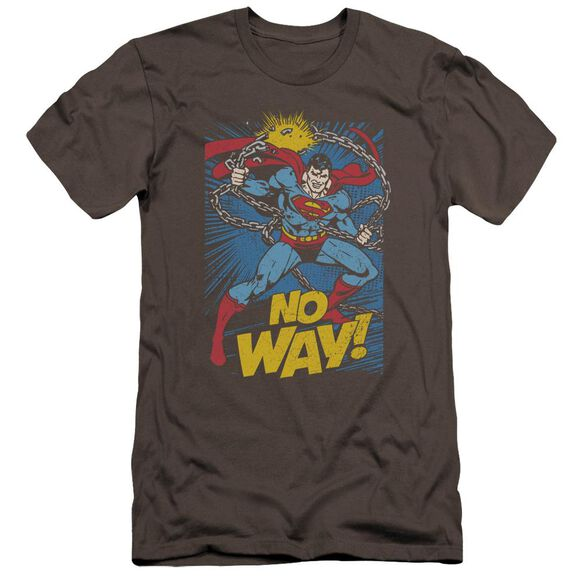 Dc No Way Premuim Canvas Adult Slim Fit