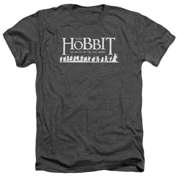 Hobbit Walking Logo Adult Heather