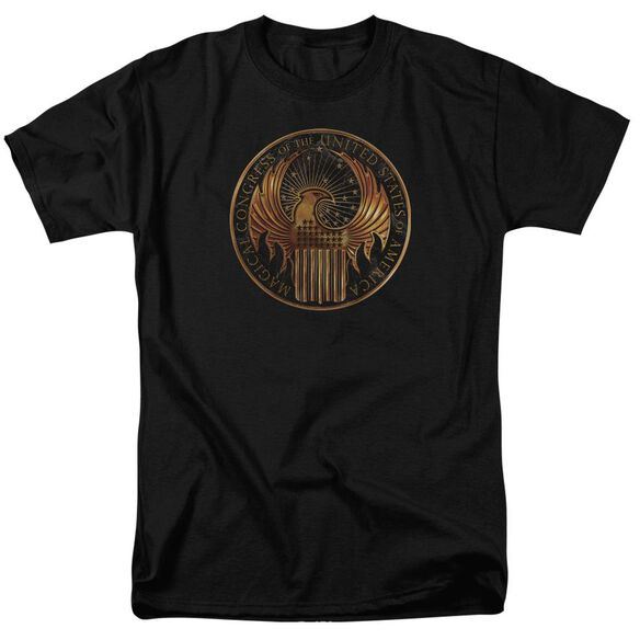 Fantastic Beasts Magical Congress Crest Short Sleeve Adult T-Shirt