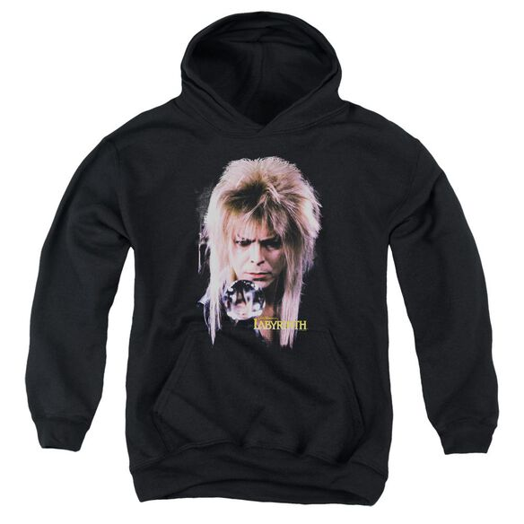 Labyrinth Goblin King Youth Pull Over Hoodie