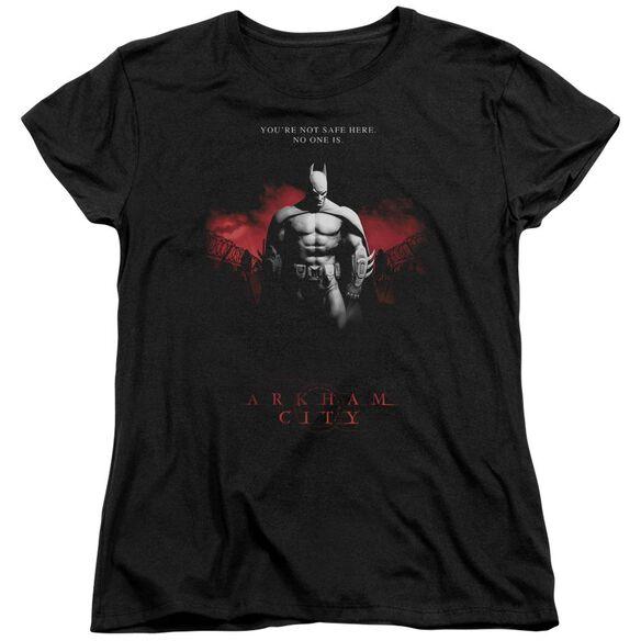 Arkham City Standing Strong Short Sleeve Womens Tee T-Shirt