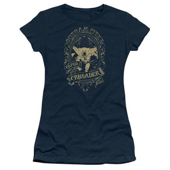 Dc Gotham Crusader Short Sleeve Junior Sheer T-Shirt