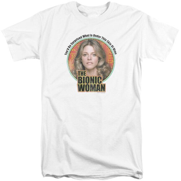 Bionic Woman Under My Skin Short Sleeve Adult Tall T-Shirt