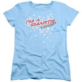 Smarties Im A Smartie Short Sleeve Womens Tee Light T-Shirt