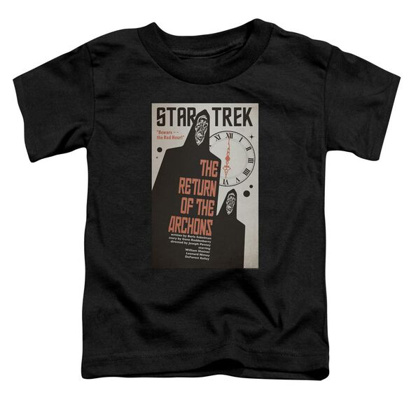 Star Trek Tos Episode 21 Short Sleeve Toddler Tee Black Sm T-Shirt