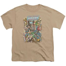 Jla Most Important Man Short Sleeve Youth T-Shirt