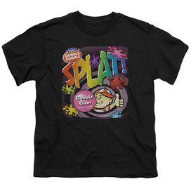 DUBBLE BUBBLE SPLAT GUM - S/S YOUTH 18/1 - BLACK T-Shirt