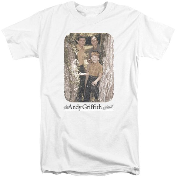 Andy Griffith Tree Photo Short Sleeve Adult Tall T-Shirt
