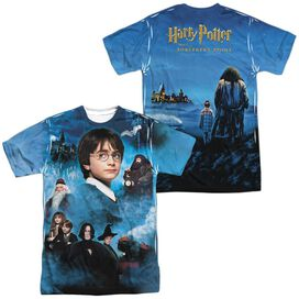 Harry Potter First Year (Front Back Print) Short Sleeve Adult Poly Crew T-Shirt