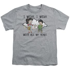 Dragon Tales I Wish With All My Heart Short Sleeve Youth Athletic T-Shirt