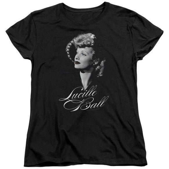 Lucille Ball Pretty Gaze Short Sleeve Womens Tee T-Shirt