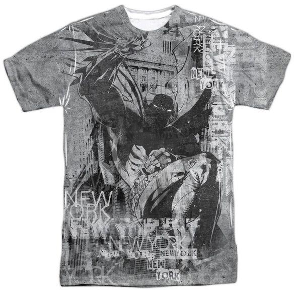 Batman Knight Life Short Sleeve Adult 100% Poly Crew T-Shirt