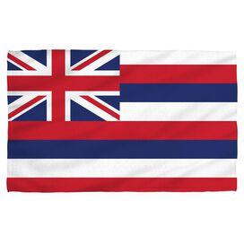 Hawaii Flag Face Hand Towel