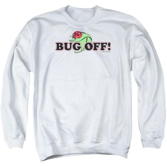 Garden Bug Off Adult Crewneck Sweatshirt
