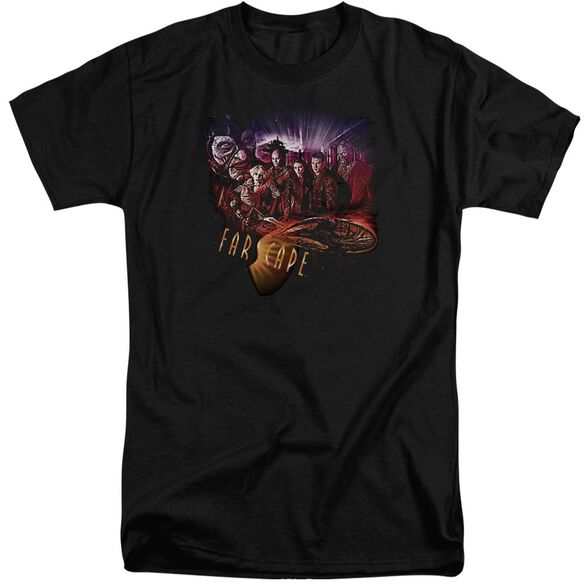 Farscape Graphic Collage Short Sleeve Adult Tall T-Shirt