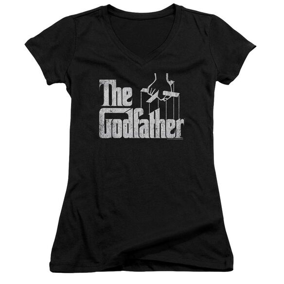 Godfather Logo Junior V Neck T-Shirt
