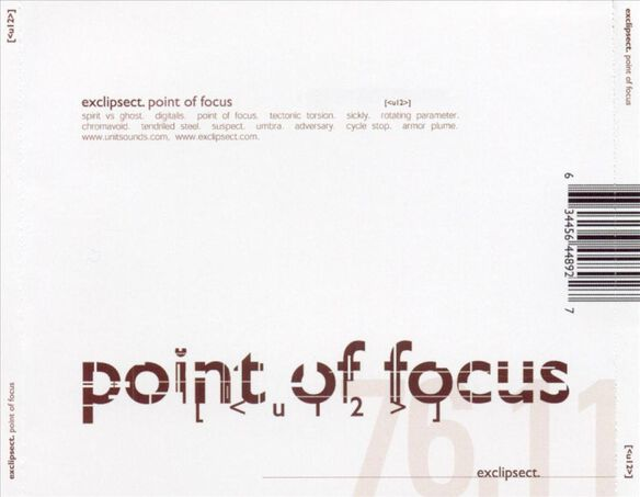 Point Of Focus 0803