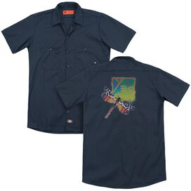 Yes Dragonfly(Back Print) Adult Work Shirt