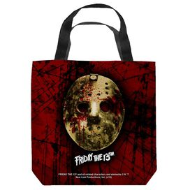 Friday The 13 Th Bloody Mask Tote