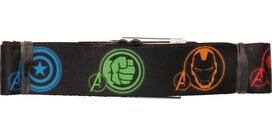 Avengers Color Hero Icons Seatbelt Belt