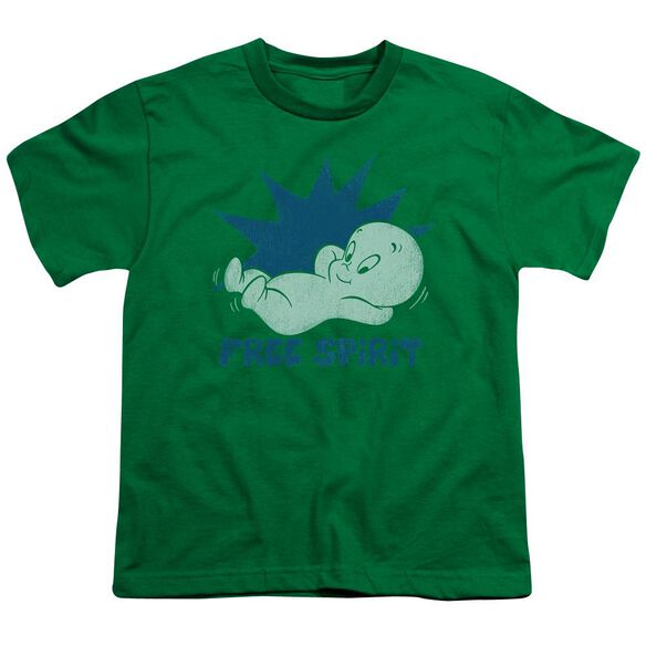 Casper Free Spirit Short Sleeve Youth Kelly T-Shirt