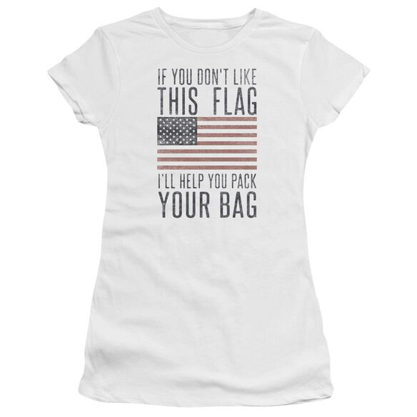 Pack Your Bag Hbo Short Sleeve Junior Sheer T-Shirt