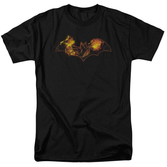 Batman Molten Logo Short Sleeve Adult T-Shirt