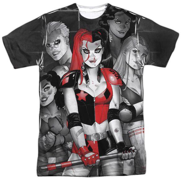 Batman Bad Girls Short Sleeve Adult Poly Crew T-Shirt