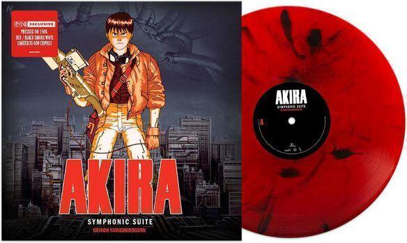 Geinoh Yamashirogumi - Akira Original Soundtrack [Exclusive Red/Black Smoke Vinyl]