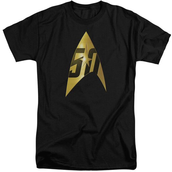 Star Trek 50 Th Anniversary Delta Short Sleeve Adult Tall T-Shirt