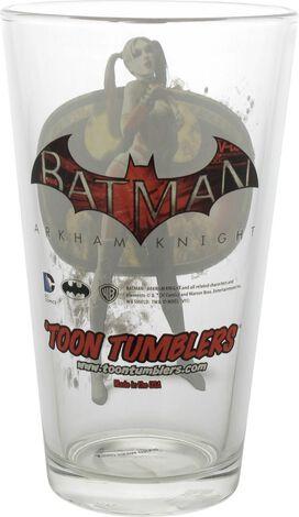 Batman Arkham Knight Harley Quinn TT Pint Glass
