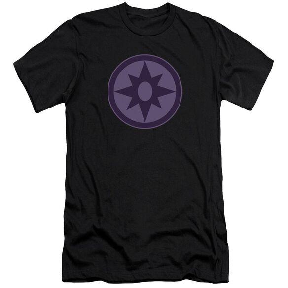 Green Lantern Sapphire Symbol Short Sleeve Adult T-Shirt