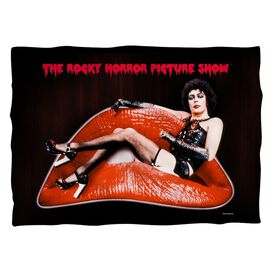 Rocky Horror Picture Show Frank Lips (Front Back Print) Pillow Case