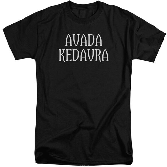 Harry Potter Avada Kedavra Short Sleeve Adult Tall T-Shirt