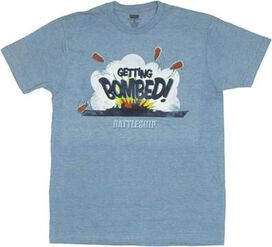 Battleship Bombed T-Shirt Sheer
