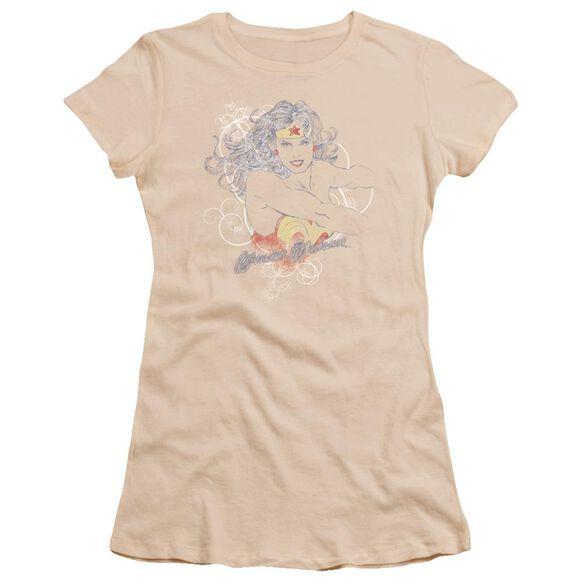 Dco Jla Sketch Truth Premium Bella Junior Sheer Jersey