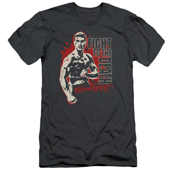 Bloodsport To The Death Short Sleeve Adult T-Shirt