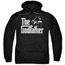 Godfather Logo Adult Pull Over Hoodie