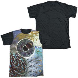 Pink Floyd Pulse Short Sleeve Adult Front Black Back T-Shirt