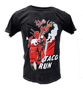 Deadpool Taco Run T-Shirt