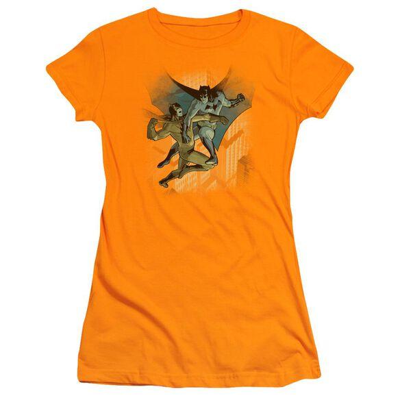 Batman Batman Vs Catman Short Sleeve Junior Sheer T-Shirt